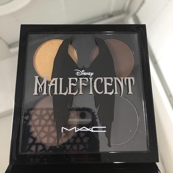 Mac Disney Collection Maleficent Eyeshadow Quad Nwt